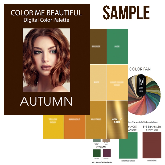 Autumn Digital Swatch Fan - PDFdownload AutumnFan